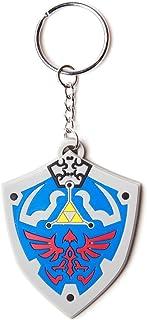 Zelda Nintendo Rubber Keychain Zelda Hylian Shield