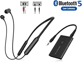 Giveet Wireless Headphones for TV Watching w/Bluetooth Transmitter, Support RCA, AUX 3.5mm Audio Out, High Volume Headset Ideal for Seniors & Hearing Impaired, Plug n Play, No Audio Delay