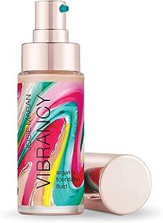 Josie Maran Vibrancy Argan Oil Foundation Fluid - Smooth, Supple, Baby-Skin Finish Thatâ€s Alive With Color (30ml/1.0oz, Juicy)