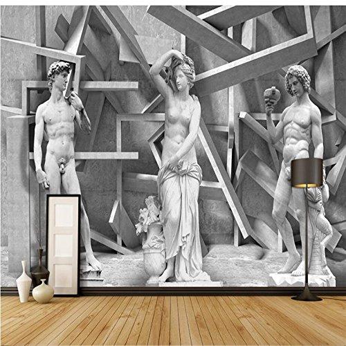 Wongxl Benutzerdefinierte Hintergrund Foto Tapete Skizze Charakter Wandverkleidung Fernseher Sofa Schlafzimmer Wandbilder Modernen Tapeten Home Decor 3D Tapeten Fresko Wandmalerei Mural Wallpaper 200cmX100cm