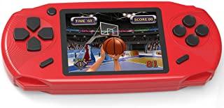 بازی های دستی Beijue 16 Bit برای کودکان بزرگسالان 3.0 '' صفحه نمایش بزرگ پیش نمایش 100 HD بازی های ویدئویی مدرن Seniors بازی های الکترونیکی برای پسران دختران تولد Xmas حاضر (قرمز)