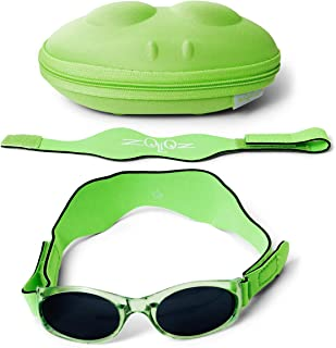 Tuga Baby/Toddler UV 400 Sunglasses with Two Adjustable Straps and Case (0-5 Years) - coolthings.us