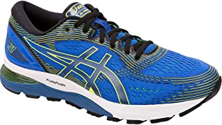 ASICS Gel-Nimbus 21, Men's Road Running Shoes, Multicolour (Black/Dark Grey)