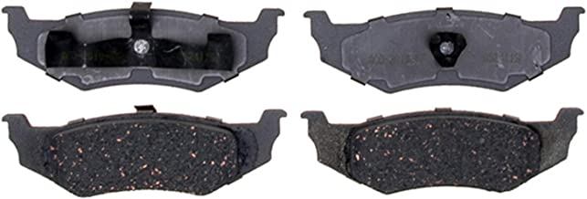 ACDelco 14D641C Advantage Ceramic Rear Disc Brake Pad Set