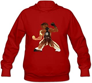 DASY Women's O-neck Attack On Titan Fox Hoodie Small Red