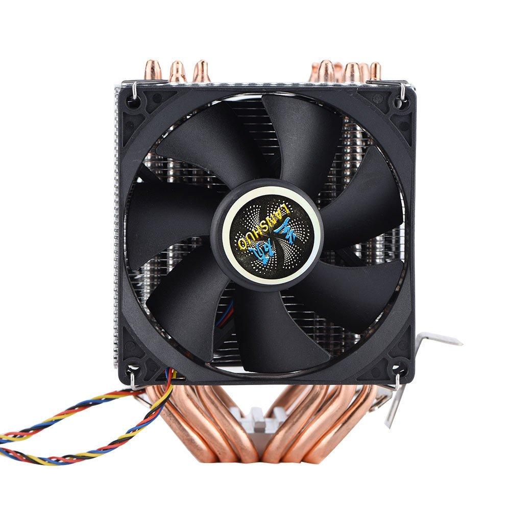 4 Pines 6 Heatpipes Ventiladores de CPU Disipador de CPU Fan ...