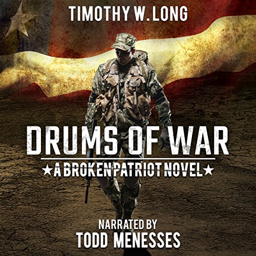 Drums of War audiobook cover art