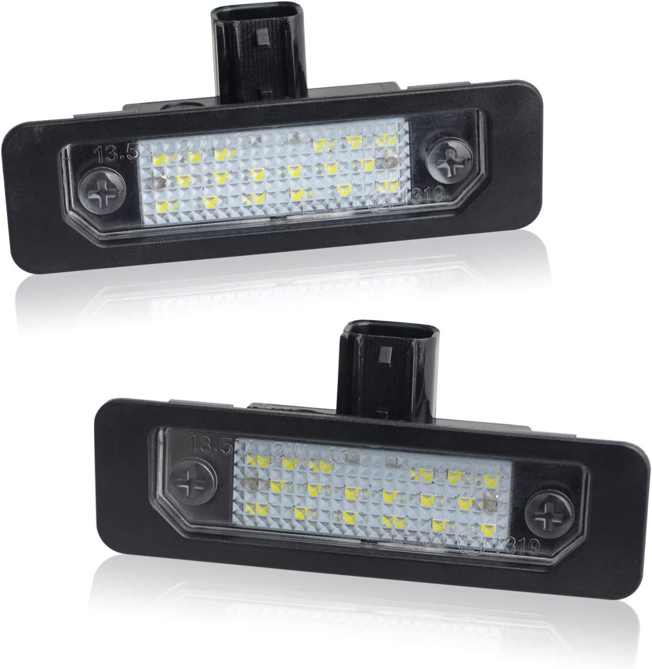 RUXIFEY LED License Plate Light Lamps to 20 2009 Compatible Cheap mail order Max 40% OFF sales with