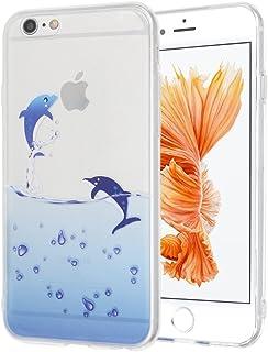 "Case for iPhone 6S Plus 5.5"",Case for iPhone 6 Plus 5.5"" Cute Cartoon Dolphin Penguin Whale Seal Polar Bear Sea Lion Anima..."