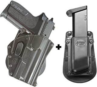 Fobus SG-09 SH Paddle Black Concealed Carry Holster Tisas Zigana T, F, FC,K, KC+ Single Magazine Pouch