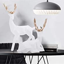 Herten Ornamenten, Herten Decoratie, Prachtige Desktop Decoratieve Thuis Hars Herten Standbeeld voor Tafel Dier Sculptuur ...