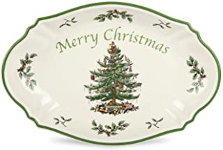 Spode Christmas Tree Merry Christmas Tree Tray