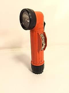 Bright Star For Vintage Orange Flashlight Model 2220 Made In USA