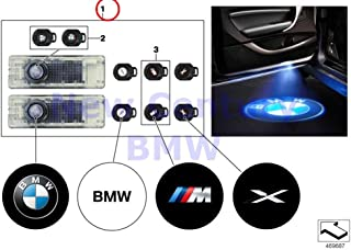 BMW Genuine And Retrofittings Led Door Projector Bmw Led Door Projectors 525i 525xi 530i 530xi 545i 550i M5 528i 528xi 535i 535xi 550i 530xi 535xi 645Ci 650i M6 650i 645Ci 650i M6 650i 745i 750i 760i