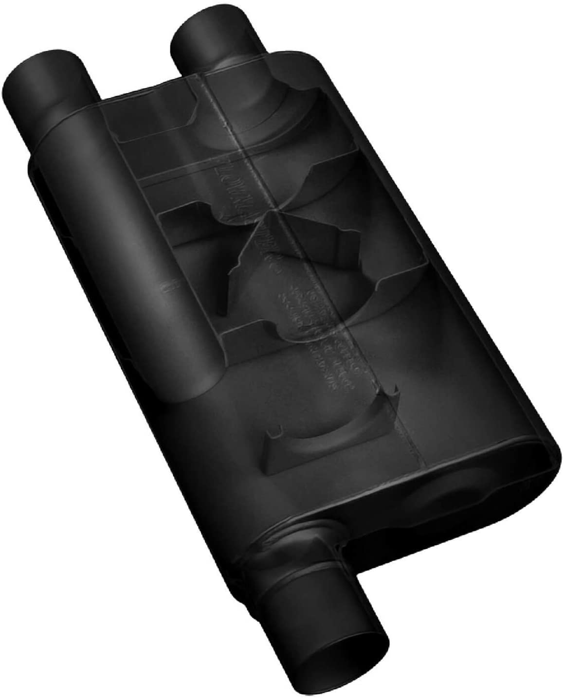 Flowmaster 43083 3 In/Dual 2.5 Out 80 Series Muffler