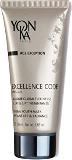YON-KA - AGE EXCEPTION EXCELLENCE CODE MASQUE (1.8 Ounces / 50 Milliliters) - Face Mask Formulated to Strengthen the Suppo...