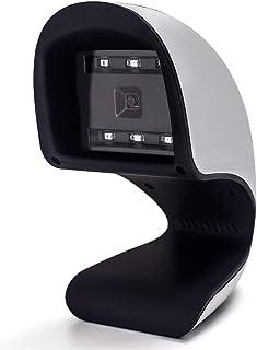 Symcode 1D 2D Symcode 定置式 バーコードスキャナー ハンズフリー 1D 2D USB CCD モバイル支払い対応(黒い)バーコードスキャナー ハンズフリー USB CCD モバイル支払い対応コンピューターのスキャンリーダ ...