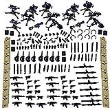 LINANNAN Armas Personalizadas de Pario para Minifiguras del Equipo SWAT, compatibles con Lego
