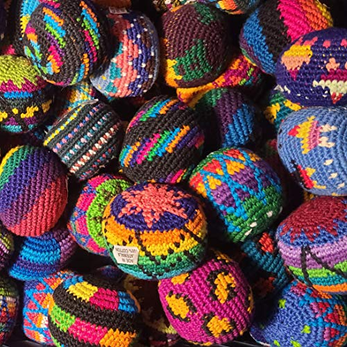 50 Hacky Sacks, Assorted Colors and Designs