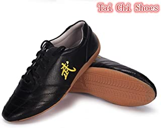 WUYIN Martial Arts Shoes Tai Chi Kung Fu Shoes for Exercise & Trainning (Size Chart in Last Photo)