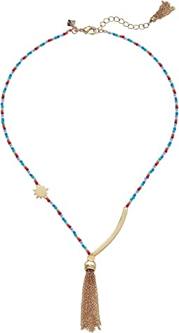 Sole Beaded Necklace