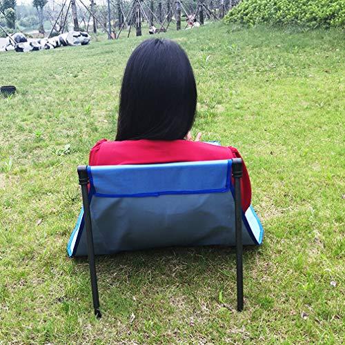 Meitanyuan Camping Teppiche, tragbare Klappstühle Picknickmatte Outdoor Ruhende Teppiche für Männer Frauen,Hellblau