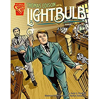 Thomas Edison and the Lightbulb audiobook cover art