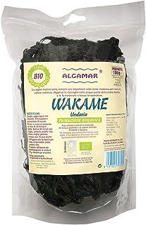 Algas Wakame Macrobiótica Crecido En Españas Orgánica