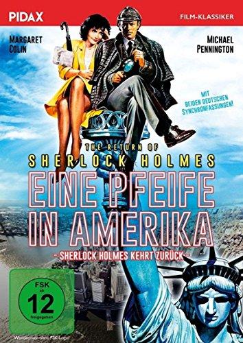 Sherlock Holmes: Eine Pfeife in Amerika (The Return of Sherlock Holmes)/Spannende Kriminalkomödie mit zwei deutschen Synchronfa