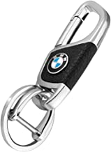 M Key Chain Keyring Family Present for Man and Woman TIANHES 2 Pack Genuine Leather Car Logo Keychain Suit for BMW 1 3 5 6 Series X5 X6 Z4 X1 X3 X7 7 Series