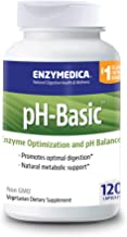 Enzymedica, pH-Basic, Promotes Healthy Digestion and pH Balance with Digestive Enzymes, Vegetarian, Non-GMO, 120 capsules (120 servings)