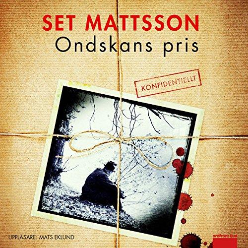 Ondskans pris audiobook cover art