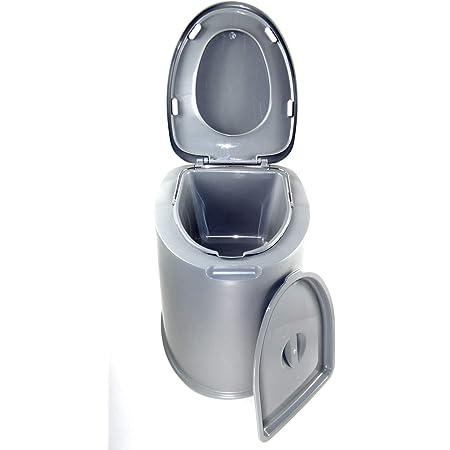 youngfate Erwachsenentoilette Camping Au/ßentoilette Mobile Toilette Tragbar Waschbar Stark Robust Kleine Toilette Camping Wandern Fernstau