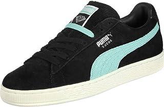 Puma X Diamond Supply Co. Mens Low Cut Lace Up Suede Trainers (UK Size: 4.5 UK) (Black/Diamond Blue)