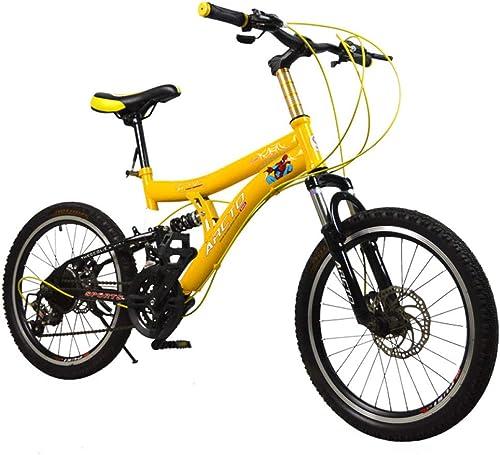 tienda de venta en línea Defect Defect Defect Bicicletas Infantiles Amortiguador de Choque Doble Freno de Disco Infantil Montaña Velocidad Bicicleta Infantil Bicicletas  ahorra hasta un 80%