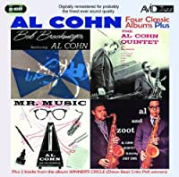 Four Classic Albums Plus (Mr Music / Al Cohn Quintet Featuring Bob Brookmeyer / Al & Zoot / Bob Brookmeyer Featuring Al Cohn) by Al Cohn (2010-05-11)