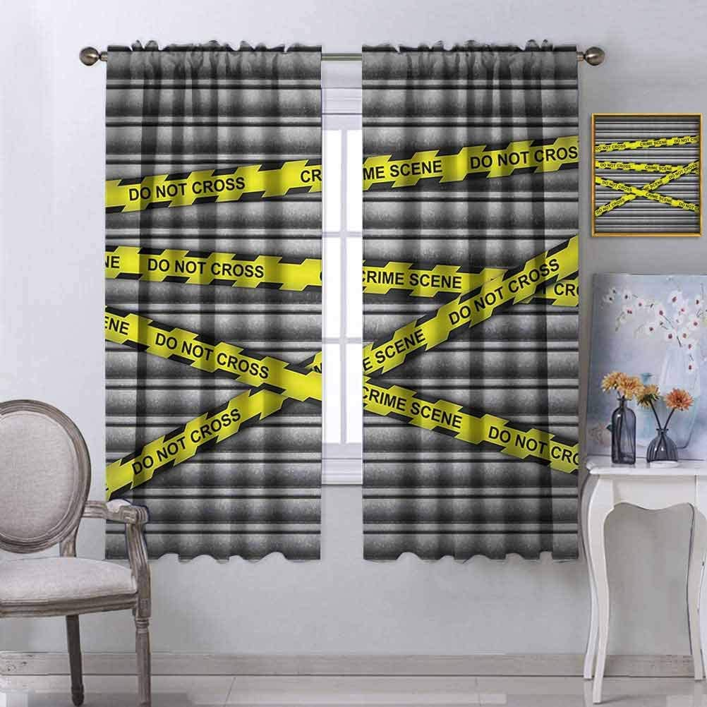 Police New product type Decor Ranking TOP15 Blackout Drapes Crime Not Scene Investigation Do Pa