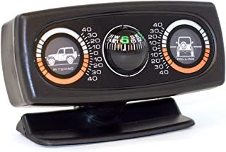 Rugged Ridge 13309.01 Roll/Pitch Indicator Clinometer with Compass
