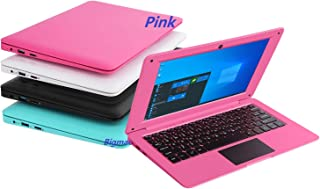BIGMAC Windows 10 Computer Laptop Mini 10.1 Inch 32GB Ultra Thin and Light Netbook Intel Quad Core CPU PC HDMI WIFI USB Ne...