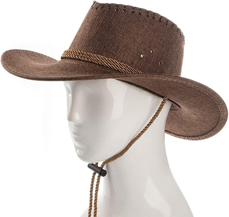 78e367fa4718d9 LEOO Straw Fashion Hat Packable Summer Beach Men (color D) Sun Hat ...