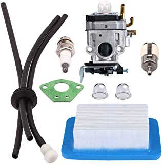 Panari WYK-192 Carburetor + Tune Up Kit Air Filter Fuel Line for ECHO PB651H PB651T PB755SH PB755ST Backpack Blower