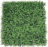 YZJL Esteras de setos Artificiales Valla de follaje de Hiedra Verde Protegido Fondo de Pared Pantalla de privacidad Decoración de Pared Interior Valla de jardín 50X50 cm Decoracion Jardin(Color:2)