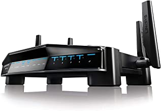 Linksys AC3200 Dual-Band WiFi Gaming Router with Killer Prioritization Engine (WRT32X)