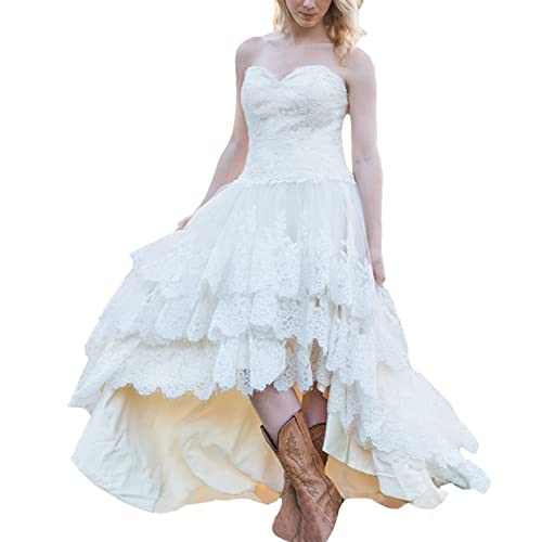 Lace Western Dress: Amazon.com