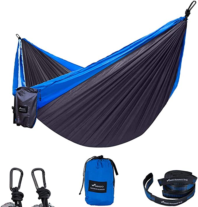 GEEZO Double Camping Hammock - The Best Content