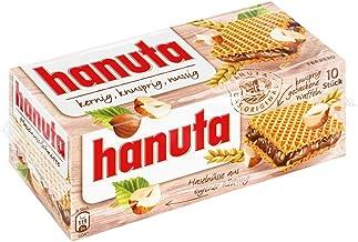 Ferrero Hanuta Wafers Filled with Hazelnut Cream (10 Pcs Box)