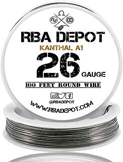 [RBA DEPOT] 100ft - 26 Gauge AWG KA1 FeCrAl Alloy Kanthal Resistance Wire A1