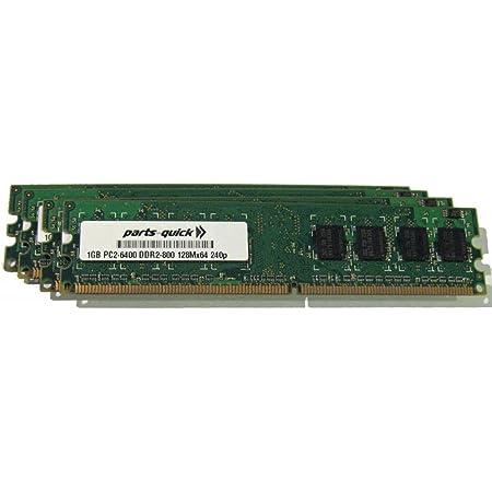 4GB Kit 2X 2GB DDR2 PC2-6400 240 pin 800Mhz Dell Inspiron 537 537s Memory RAM