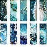 10 Pezzi Segnalibri Magnetici Marcatori di Pagina Magnetica Marcatori di Libri Assortiti Clip per Pagine Magnetica Durevole per Studenti Insegnanti da Lettura, Modelli di Multi Oceano