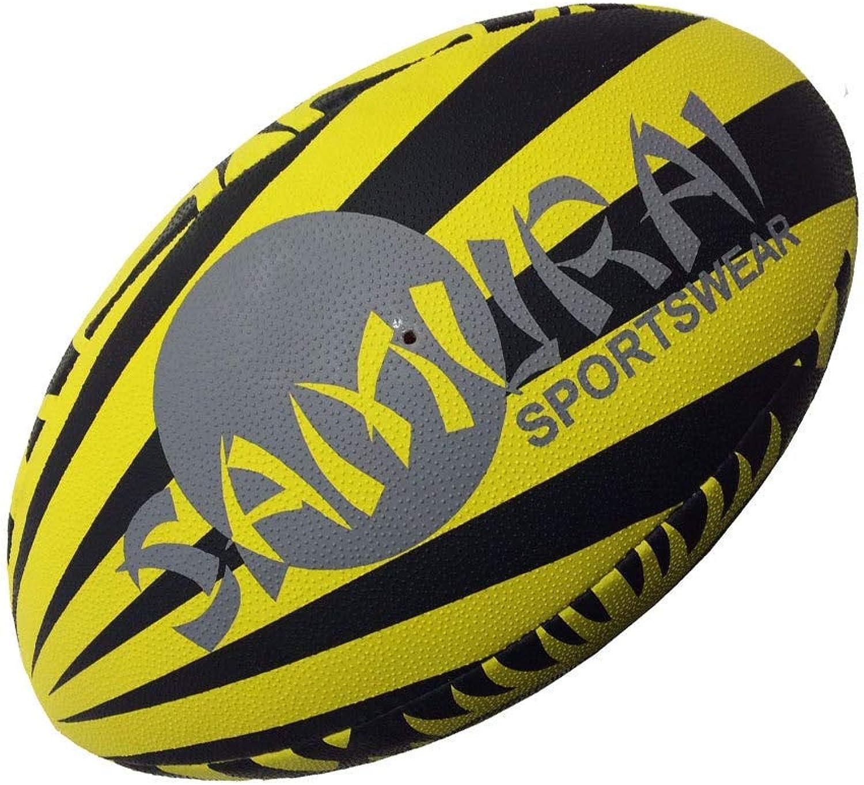 Samurai Warrior Rugby Ball [Yellow Black]